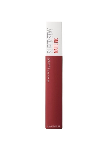 Maybelline Maybelline New York Super Stay Matte Ink Likit Mat Ruj - 50 Voyager - Bordo Bordo